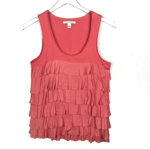 Banana Republic Small Ruffled Tank Top
